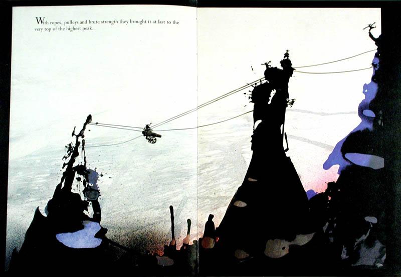 An illustrated story by Ralph Steadman based on an idea by Dimitri Sidjanski.