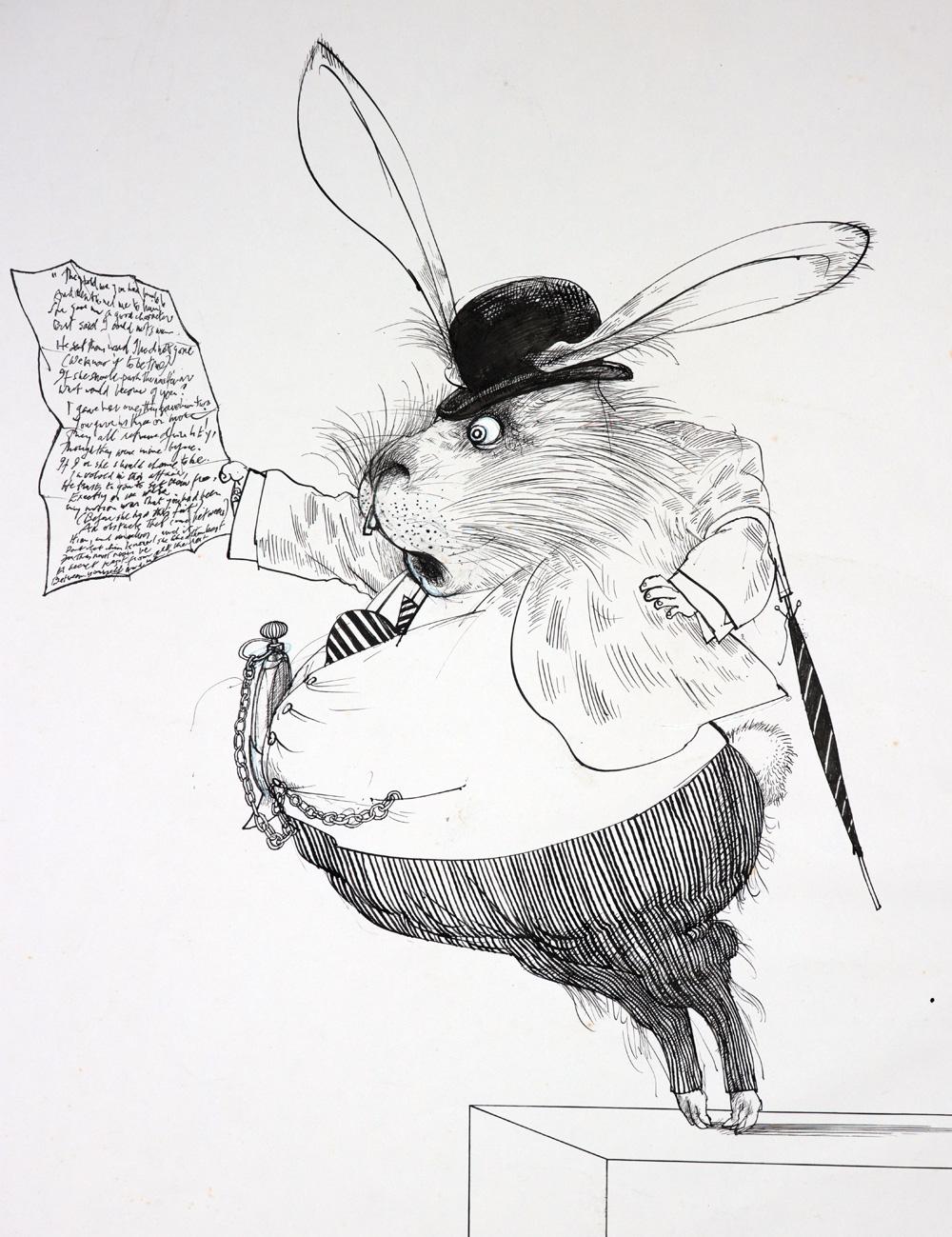 Alice in Wonderland – Ralph Steadman Art Collection