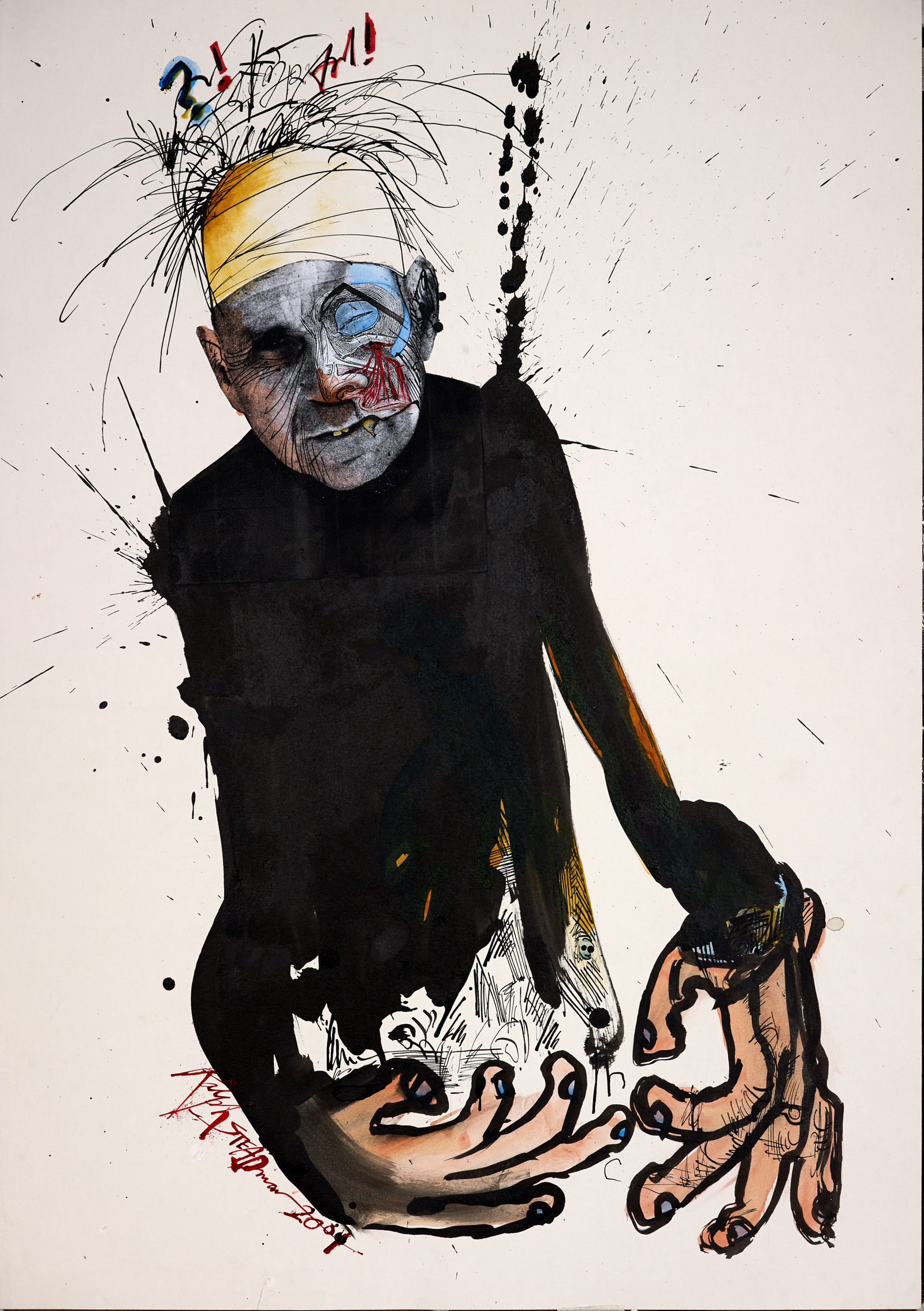 Ralph Steadmans's Social Commentary