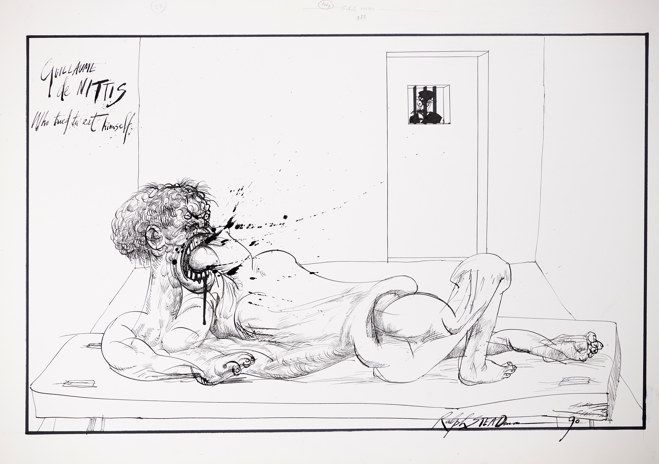 Ralph Steadman's collaboration with Will Self
